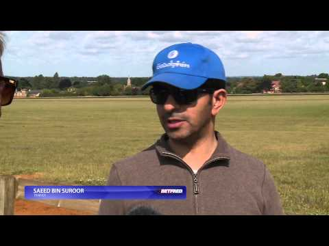 Saeed Bin Suroor on Global Force | Betfred TV