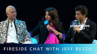 Fireside Chat with Jeff Bezos | Shah Rukh Khan, Zoya Akhtar