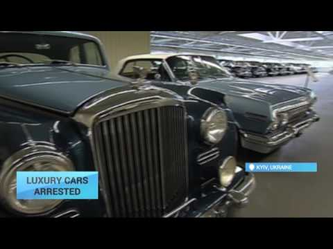 Retro Cars of Ukraine Ex-President Arrested: Yanukovych fled Kyiv in February 2014