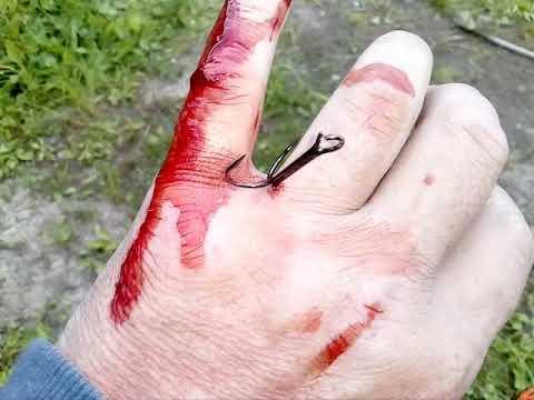 ПашАсУралмашА:-Случай не рыбалке! Мои действия в описании под видео