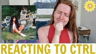 REACTING TO CTRL BY SZA | MEGHAN HUGHES