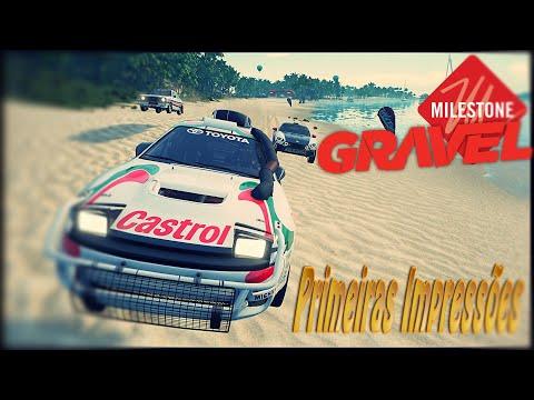 Gravel Gameplay - Primeiras Impressões - O NOVO SEGA RALLY? PC XONE PS4