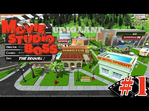 "Making Movies!! ""Movie Tycoon"" Ep.1"