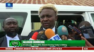 Alleged Homicide: El-Zakzaky And Wife Absent From Sitting