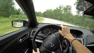 2018 Acura TLX V-6 SH-AWD A-Spec - POV Walkaround & Test Drive (Binaural Audio)