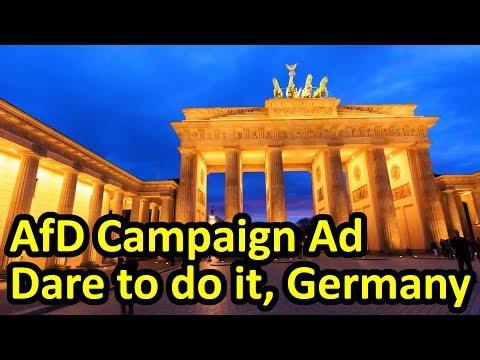 Powerful TV ad Alternative for Germany Alternative für Deutschland AfD (English Subtitles)
