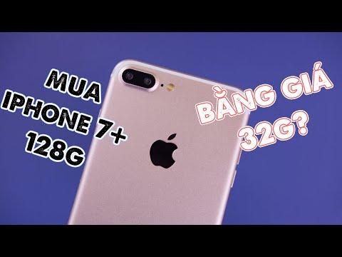 SỞ HỮU iPHONE 7 PLUS 128GB....GIÁ NHƯ 32GB?? - QUÁ HỜI!!!