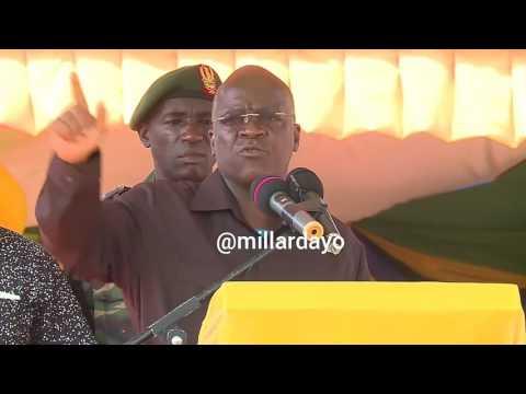 """""""Wapo waliomwita Kafulila Tumbili, Mimi nakwambia hongera"""" - Rais Magufuli"""