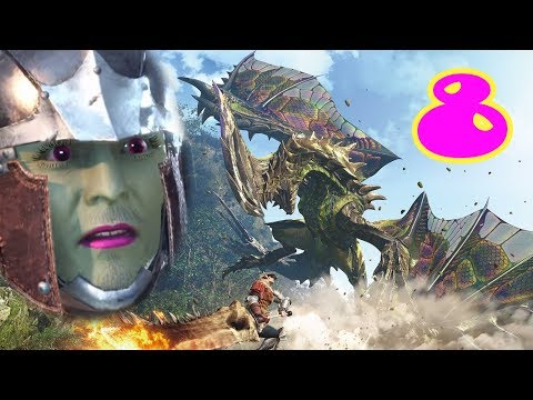 Le Cacatosaure - Monster Hunter World #8 - Benzaie Live