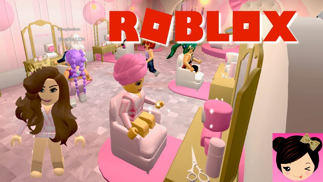Hair Styling Games Online: Roblox Beauty Hair Salon Roleplay