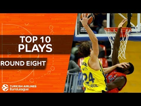 Top 10 Plays  - Turkish Airlines EuroLeague Regular Season Round 8
