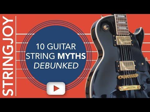 10 Guitar String Myths Debunked