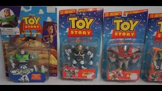 Toy Story Super Sonic Space Claw Galactic Armor Big Blast Buzz Lightyear Whipping Quick Draw Woody
