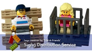 Lego '3 Brick Friends' Sigfig Distribution Service