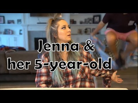 Jenna and her 5-year-old