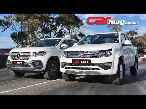DRAG RACE: Volkswagen Amarok 3,0 V6 4Motion TDI vs Mercedes-Benz X350d 4Matic