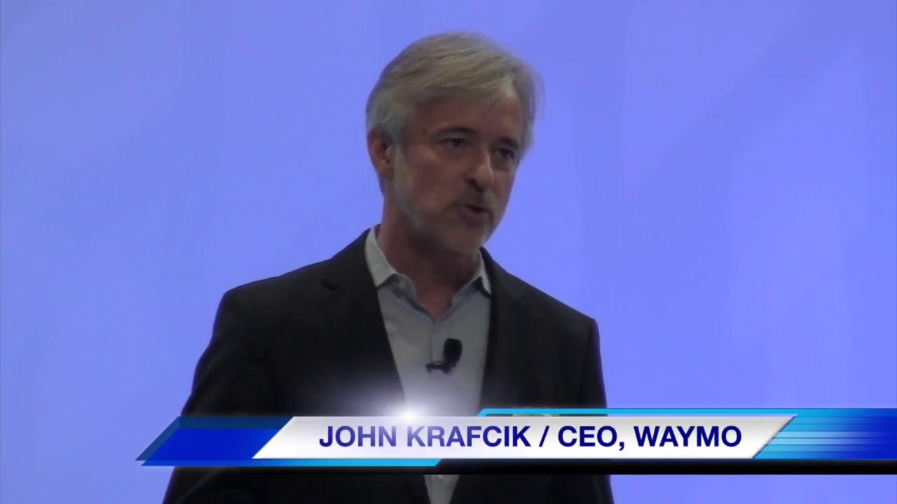 Waymo CEO John Krafcik speaks at Automobili-D (2017 NAIAS ...