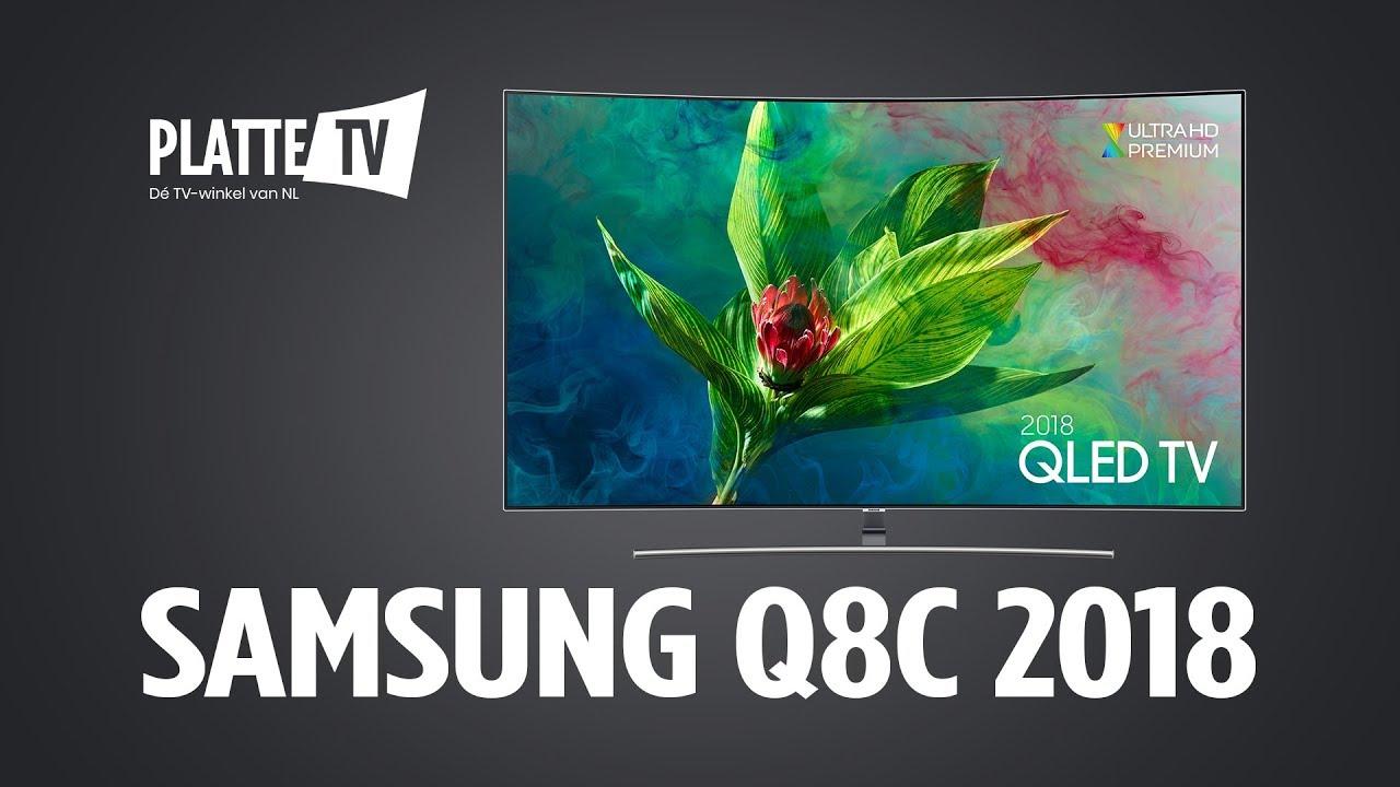 Samsung Q8c 2018 Qled Tv Plattetv Youtube