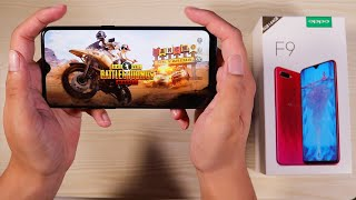 OPPO F9 Unboxing and Hands On - Pubg, Battery, Camera