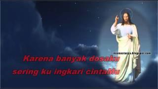 jadikan hatiku istana cintamu lagu rohani katolik youtube lirik