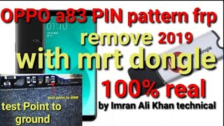 Mrt dongle new security unlock oppo a83