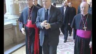 Cardinal Bertone presents Pope Benedict XVI's  vision of...