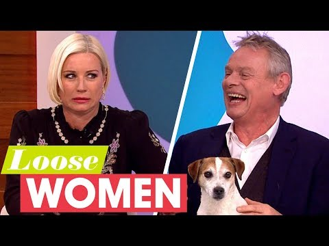 Martin Clunes' Dog Jim Causes Trouble With His Mic! | Loose Women