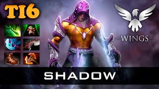 shadow Anti-Mage - Wings vs DC - TI6 Dota 2