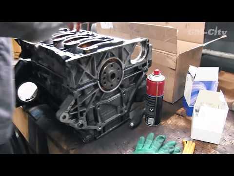 Сборка двигателя Chevrolet Captiva 2.4 - масложор