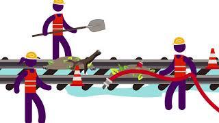 Que fait SNCF après une inondation ?