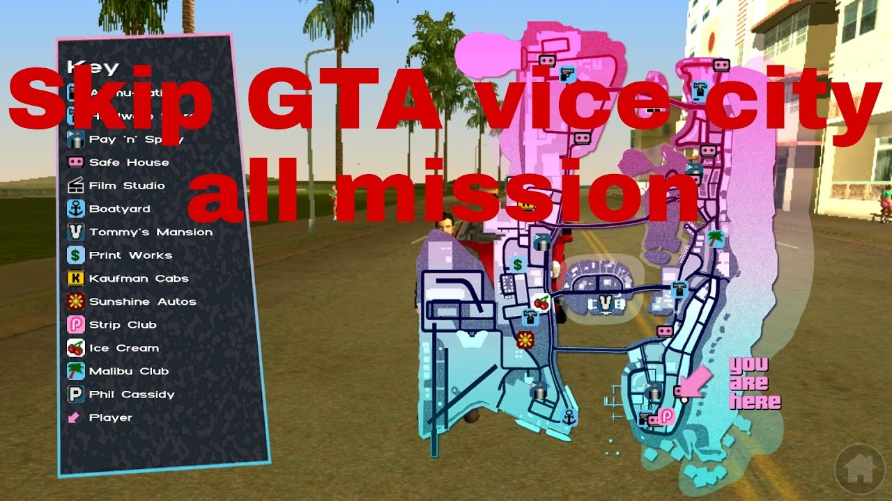 gta vice city mission completed files