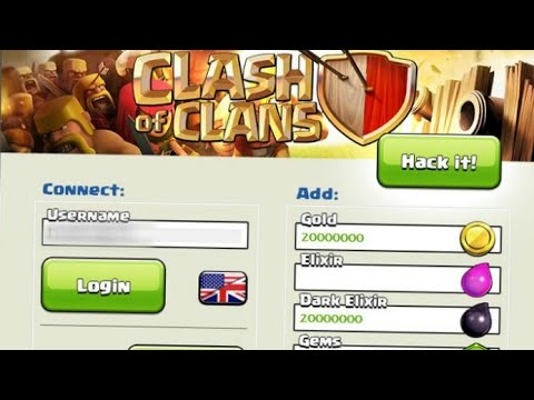 How To Hack Clash Of Clans Easily -Free Gems Cheat 2017