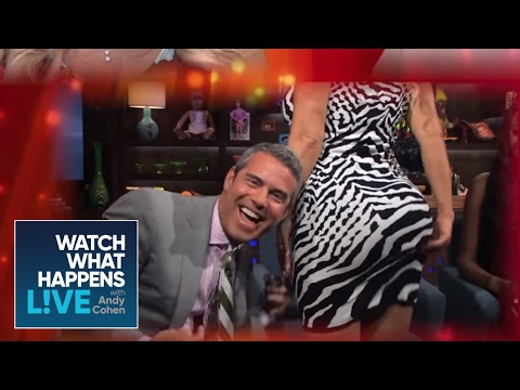 Ice-T Reacts To Coco Austin Smacking Andy's Face With Her Butt | WWHL