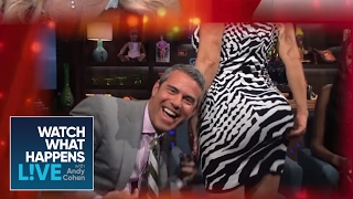 Repeat youtube video Ice-T Reacts to Coco Austin Smacking Andy's Face With Her Butt - WWHL