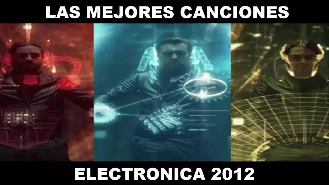 LAS 20 MEJORES CANCIONES ELECTRÓNICA 2012