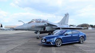 Reportage - Objectif 300 km/h à bord de l'Audi RS7 2016