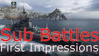 World of Warships- Submarine Battles First Impressions