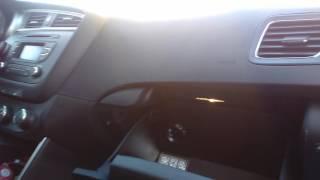 видео Замена салонного фильтра на КИА Сид (KIA Ceed)