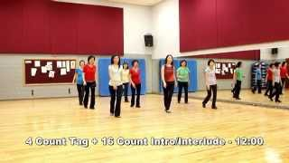 Overrated - Line Dance (Dance & Teach in English & 中文)