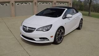 West TN 2016 Buick Cascada Convertbile white used for sale info www sunsetmotors com