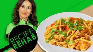 Chef Mareya Ibrahim's Chili Cheese Spaghetti I Recipe Rehab I Everyday Health