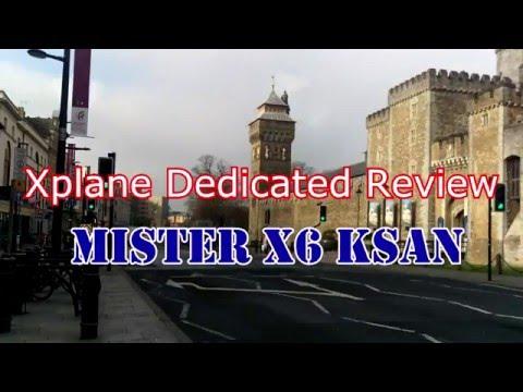 Xplane Dedicated Review : Misterx6 KSAN Vlog_144