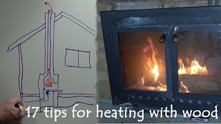 Heating Your House Efficiently with a Wood Burning Fireplace or Stove