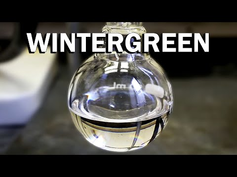 How to make Wintergreen (Odor and Flavoring)