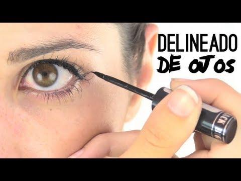Cómo delinear los ojos | How to eyeline your eyes