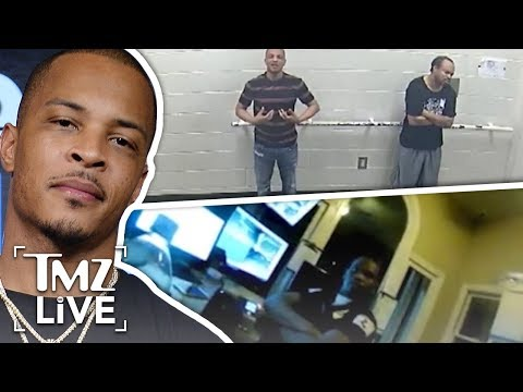 Body Cam Footage Of T.I. Shooting | TMZ Live