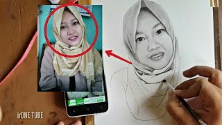 Download Video sketsa wajah realis wanita idaman MP3 3GP MP4