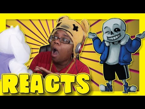 Undertale The Musical Turn Around and Shake My Hand by Man On The Internet | Animation Reaction