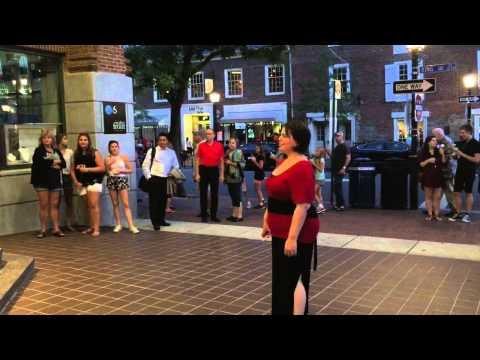 Beautiful Music in Old Town Alexandria, Virginia
