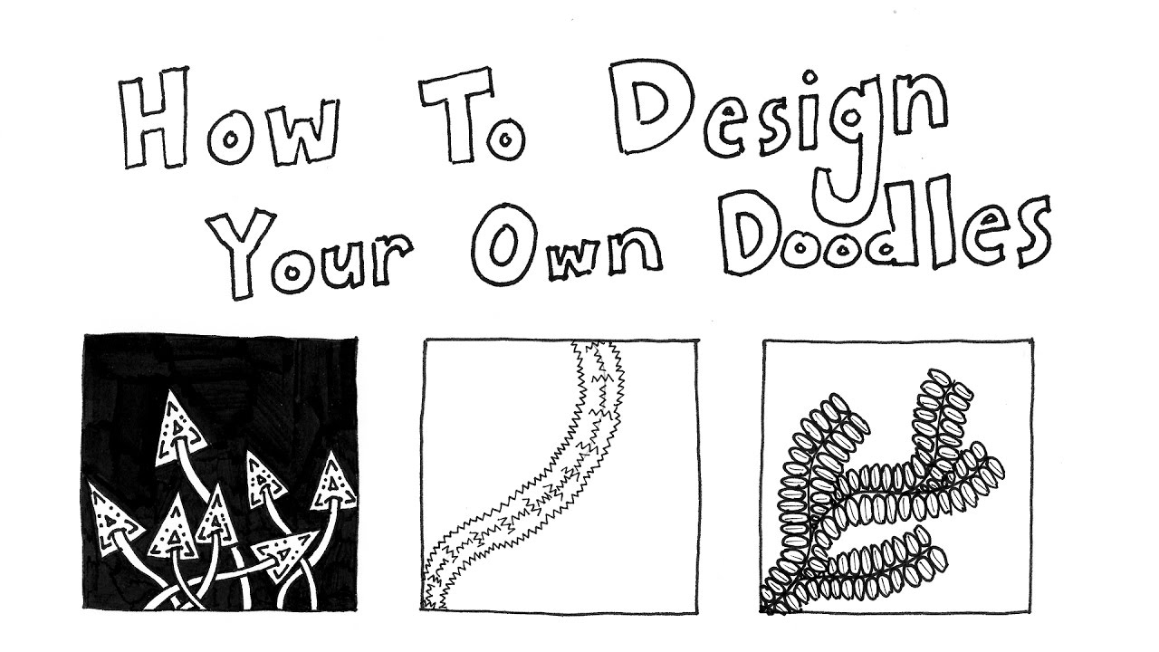 How to Doodle Your Own Zentangle Patterns (Part 1: Basics